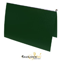 "Pliable Green Certificate Cover & Pawl (Holds 8.5"" x 11"" Sheet)"