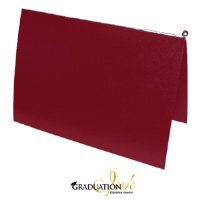 "Pliable Maroon Certificate Cover & Pawl (Holds 8.5"" x 11"" Sheet)"