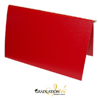 "Pliable Red Certificate Cover & Pawl (Holds 8.5"" x 11"" Sheet)"