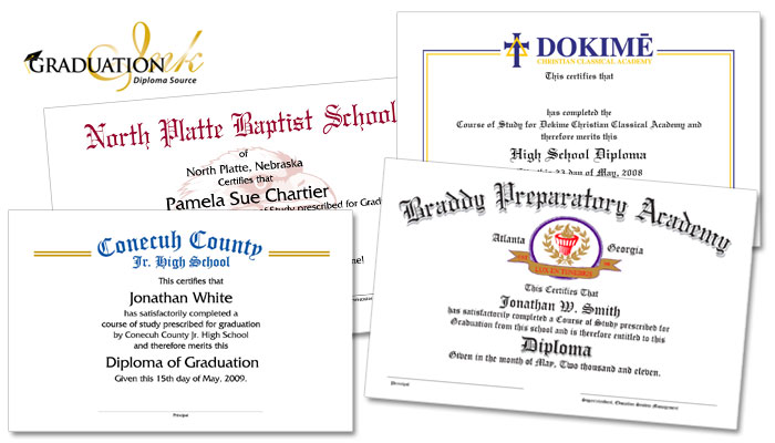 Replacement Bittel Diploma Sheets
