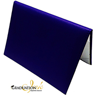 "Padded Royal Blue Diploma Cover - (Holds 5.5"" x 8.5"" Sheet)"