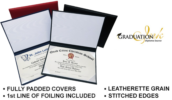 Catholic Diploma Covers