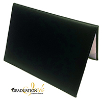 "Padded Green Diploma Cover - (Holds 5.5"" x 8.5"" Sheet)"