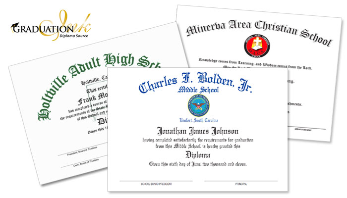Christian Diploma Sheets & Certificates