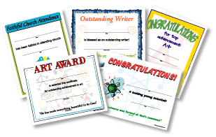 Christian School Certificates