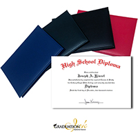 Series 500 Home School Diploma Cover & Diploma Sheet
