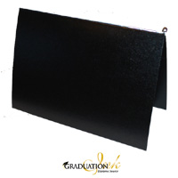 "Pliable Black Certificate Cover & Pawl (Holds 8.5"" x 11"" Sheet)"