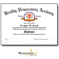 "Small Custom Diploma Sheets & Certificates (5 1/2 x 8 1/2"")"