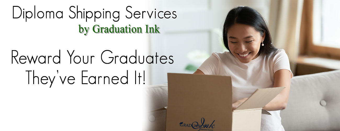 Graduation Ink Diploma Delivery Service